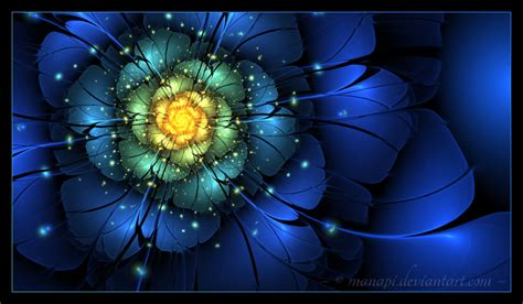 moon flower by manapi on deviantart