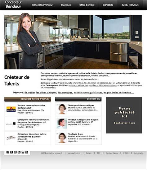 concepteur vendeur cuisine vendeur concepteur cuisine offre d emploi poêle cuisine inox