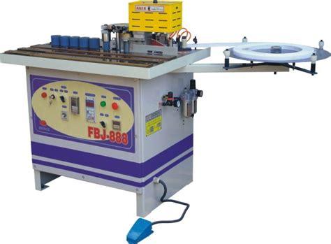 china  type double faced coating adhesive curvestraight ling edge sealing machine fbj