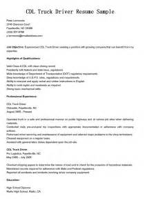 resume for applying driver position truck driver resume sle resume template 2016 car