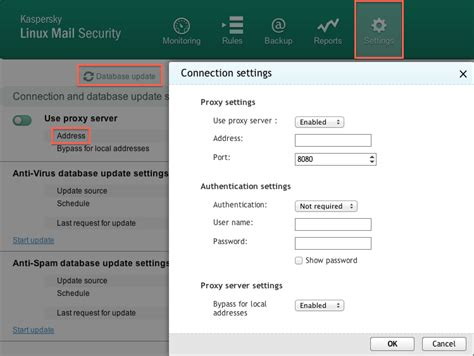 How To Configure Proxy Server Settings In An Update Task