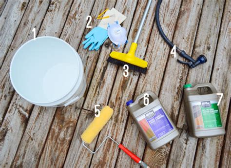 Behr Deck Cleaner And Brightener Directions by How To Clean A Deck For Stain House
