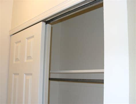 installing bypass closet door hardware closet ideas