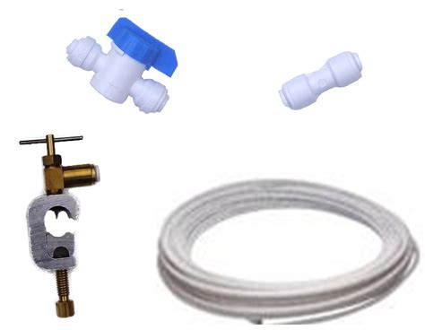 american fridge water filter plumbing fitting connection kit pipe tap connector  ebay