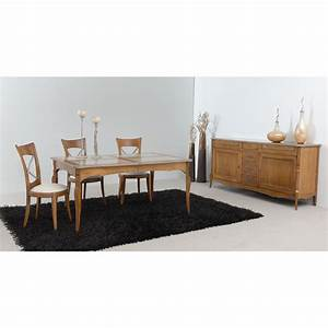 table de sejour rustique chene rectangulaire austrina With tapis de marche avec canapé maga meuble