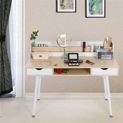 bureau coiffeuse bureau informatique coiffeuse table de maquillage avec 2