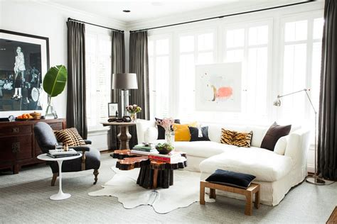 Sophisticated Urban Living Room Thou Swell