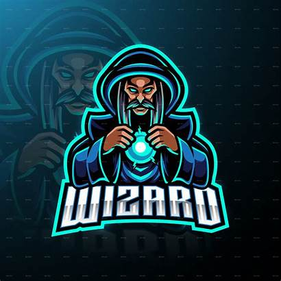 Wizard Mascot Esport Mago Premium Freepik Mascotte