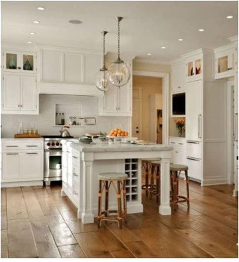 style kitchen cabinets kitchen island wide plank floors white kitchens 4367
