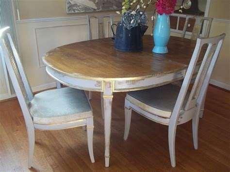 diy distressed dining room table easy finishing