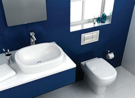 bathroom wallpaper blue  decor ideas enhancedhomesorg