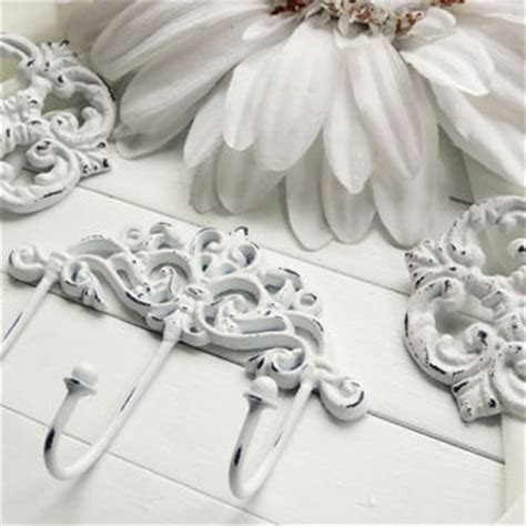 shabby chic curtain hooks curtain tie backs wall decor hooks from willowsgrace on