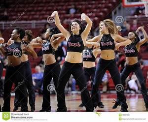 Temple University Diamond Gems Dance Team Perform ...