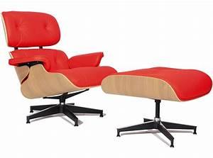 Eames Lounge Chair Replica : replica eames lounge chair red ~ Michelbontemps.com Haus und Dekorationen