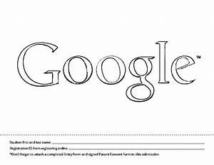 Doodle for google template bing images for Google outline template
