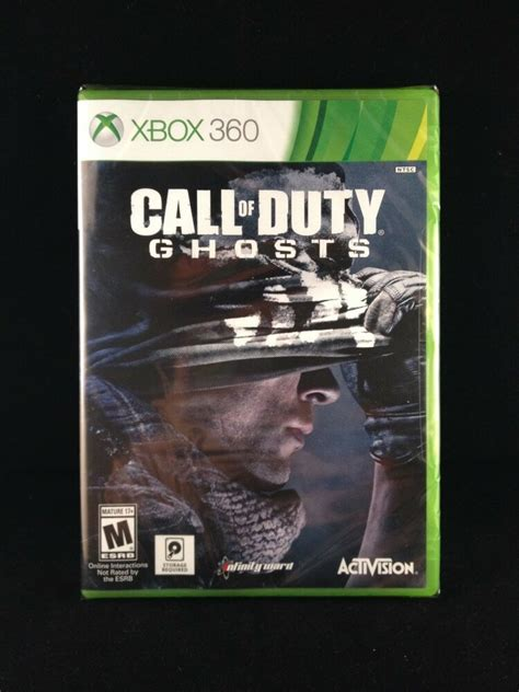 Call Of Duty Ghosts Xbox 360 2013 Brand New Factory