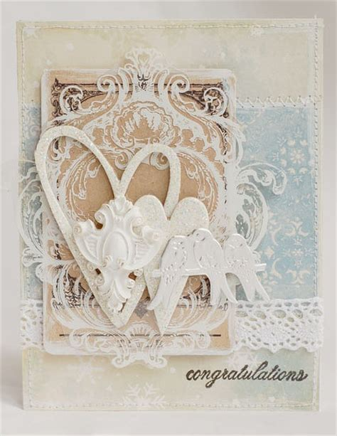 shabby chic wedding card ideas 17 best images about love and wedding cards more on pinterest valentine day cards handmade