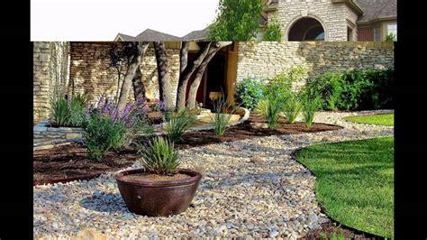 awesome stone landscaping ideas youtube