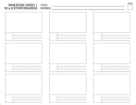 storyboard template pdf storyboard template word pdf calendar template letter format printable holidays usa uk pdf