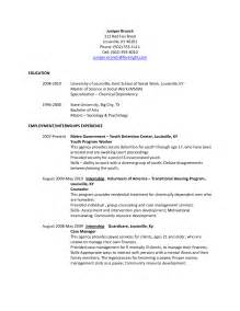 canada resume format 2015 resume sle canada 2015 augustais