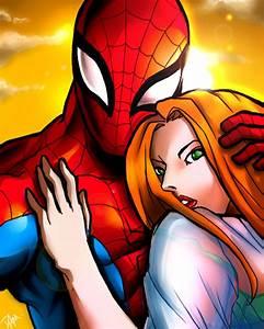 Mary Jane and Spiderman by DarroldHansen on DeviantArt