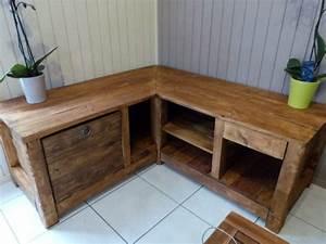 Créer Son Canapé Sur Mesure : fabriquer meuble tv angle ~ Dode.kayakingforconservation.com Idées de Décoration