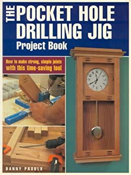 pocket hole drilling jig project book