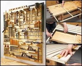 Garden Tool Rack Diy by Tool Storage Ideas