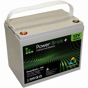 Powerbrick 100ah - 12v Lithium-ion Battery Pack