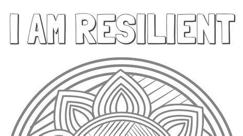 resilient coloring page