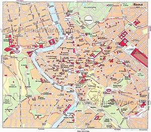 Really Good Map Of Rome Attractions And Neighborhoods