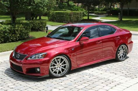 isf lexus red buy used 2012 lexus isf matador mica red w black interior