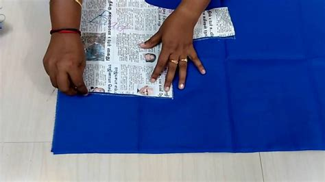 lining blouse cutting  tamil part  youtube