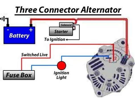 12v Alternator Kit, 55 Amp Alternator, Type 3 Engines