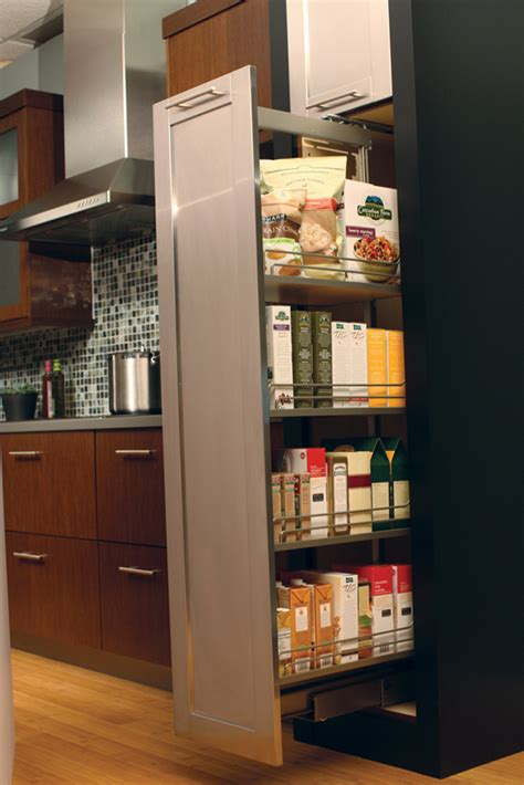 slide out kitchen storage cardinal kitchens baths storage solutions 101 pantry 5333