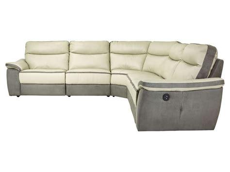 canape trevise canapé d 39 angle relaxation électrique 5 places en cuir