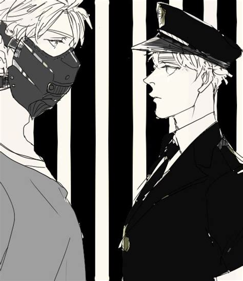 Police England X Prisoner America