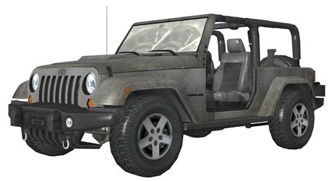 call of duty jeep white image jeep wrangler white model mw3 png the call of