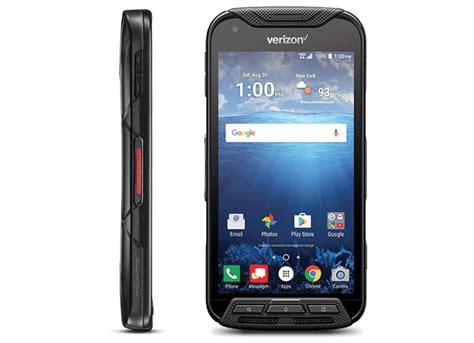 kyocera duraforce pro    verizon  rugged body sapphire shield display