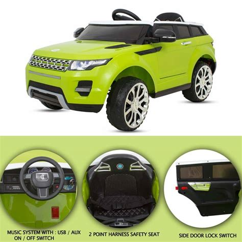 Cars With The Range by Buy Baybee Range Rover Battery Operated Ride On Car For