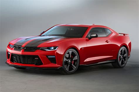2018 Chevrolet Camaro Ss Red And Black Accent Packages
