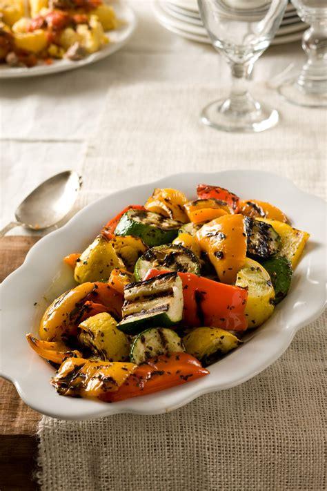 grilled summer vegetables recipe relish