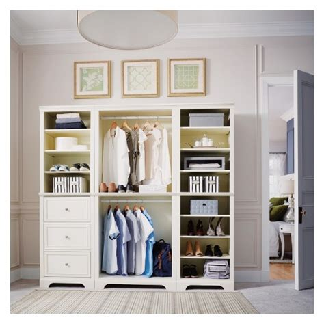 Closet Styles by Naples 3pc Closet Organizer White Home Styles Target