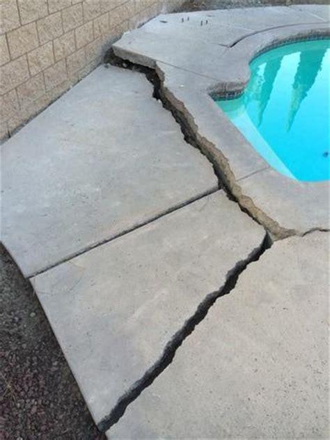 unsightly pool deck repair