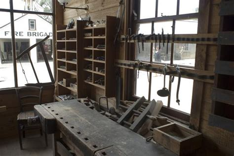 woodworkers shop  stockarch  stock