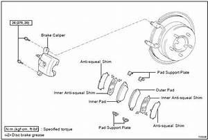 Toyota Land Cruiser  Rear Brake Pad