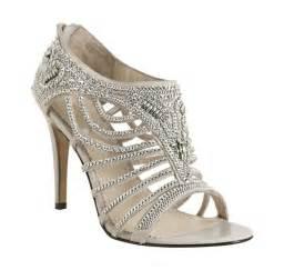 shoes for wedding grey rhinestoned open toe bridal shoes wedding shoes