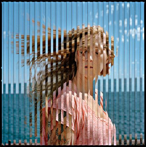 Striped Double Exposure Photos Created Entirely In Camera