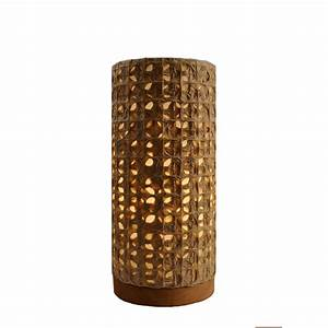 Eangee home designs paper cylinder mesh natural layered for Paper cylinder floor lamp