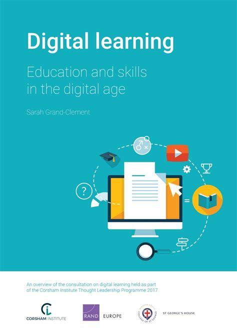 digital learning education  skills   digital age